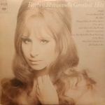 Barbra Streisand's Greatest Hits Vinyl Album