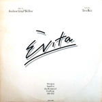 Evita - London Cast Vinyl Album