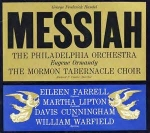 George Frederick Handel - Messiah Vinyl Album