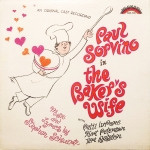 The Baker's Wife Original Cast Recording Vinyl Album